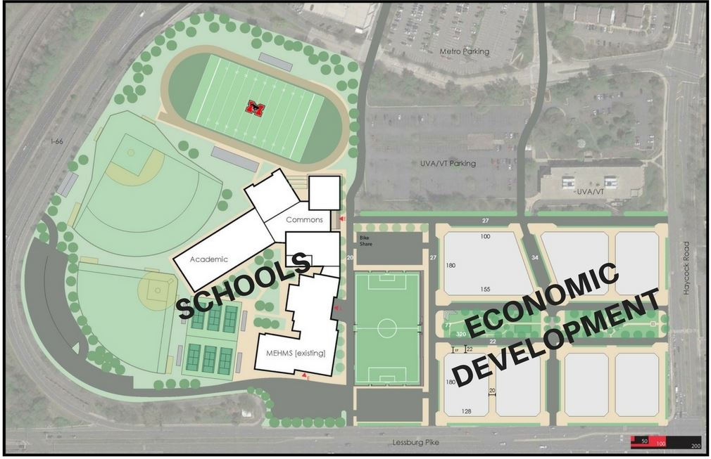 Map of High School and Econ Dev